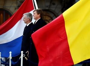 Belgium and the Netherlands peacefully exchange land