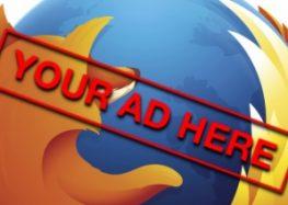 Firefox skipt privacy voor advertenties