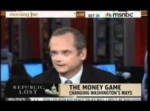 Lawrence Lessig for president to change the president system?