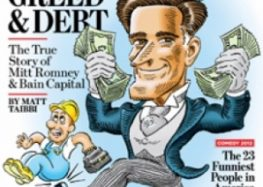 Mitt Romney Bad Greed and Debt history