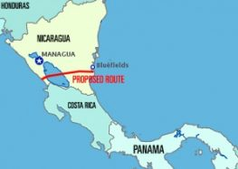 Nicaragua Canal in making