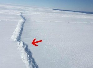 The West Antarctic Ice Shelf Is Breaking Apart From the Inside
