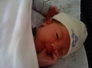 Thom Gerard Zong-Cai born @ 25-03-2012