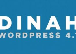 WordPress 4.1 Dinah is out