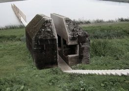 Amazing! Cutting A World War Two Bunker In Half To Create a War Memorial