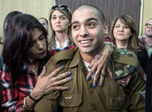 Five children who got longer sentences for throwing stones than the Israeli soldier who shot dead an incapacitated Palestinian