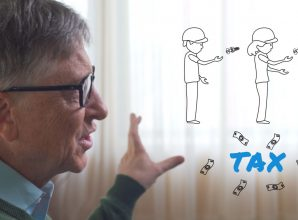 The robot that takes your job should pay taxes, says Bill Gates