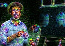 Artificial Intelligence Turned Bob Ross into a Terrifying Psychedelic Nightmare