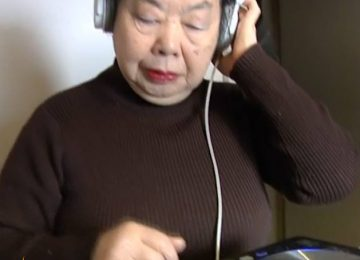Meet 82-year-old Sumiko: a Japanese dumpling maker by day… and professional DJ…