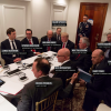 Photo: Who was in the room when Trump was briefed on the Syria strike?