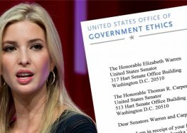 Government Ethics Office Drops Bomb On Ivanka Trump And Husband Jared Kushner