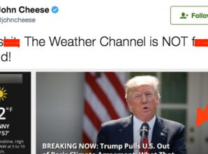 The Weather Channel Just Roasted Donald Trump's Disastrous Climate Decision