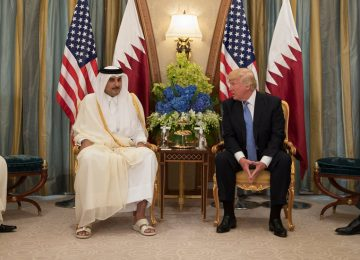 Trump Takes Credit for Saudi Move Against Qatar, a U.S. Military Partner