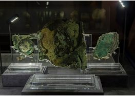 "The Antikythera mechanism, an ancient analog ""computer"", said to be ""more valuable than the Mona Lisa"""