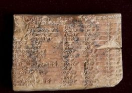 3,700-Year-Old Babylonian Stone Tablet Is Translated