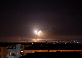 Israel and Iran on brink of full-scale war after unprecedented Syria bombardment in response to alleged Golan Heights attack