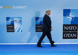 AP FACT CHECK: Trump presses falsehoods about NATO, Germany