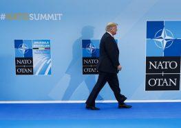 AP FACT CHECK: Trump presses falsehoods about NATO, Germany