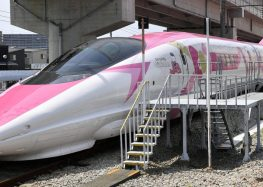 Japan just unveiled a Hello Kitty-themed bullet train — here's what it's like inside