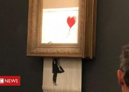 Banksy artwork shreds itself after sale