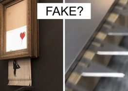 Guy Notices That Something Doesn't Add Up In Banksy Shredding, Explains Why It Was FAKE