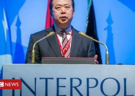 Interpol chief vanishes on Chinese trip