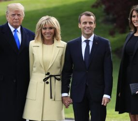 French government wishes Trump had shown 'common decency'