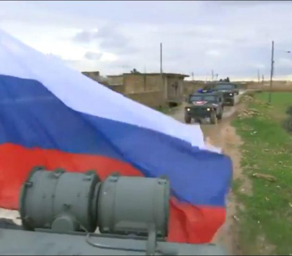 Russian military enters Syria area left by U.S. allies after Trump's withdrawal announcement