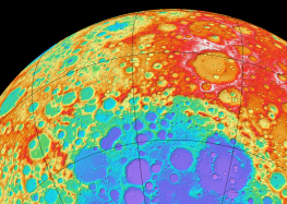 "Astronomers discover ""deep structure"" under Moon's largest crater"