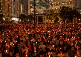 Tiananmen Anniversary Draws Silence in Beijing but Emotion in Hong Kong